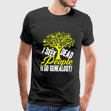 I Do Genealogy Shirt - Men's Premium T-Shirt