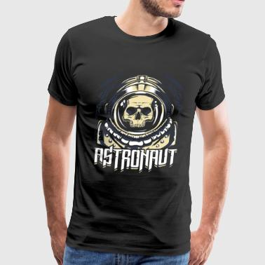 Astronaut Skull Spacemonster Sci-fi - Men's Premium T-Shirt