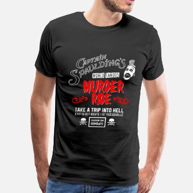 Captain Spaulding Captain Spaulding's - World famous murder ride tee - Men's Premium T-Shirt