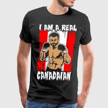 I Am A Real Canadian - Men's Premium T-Shirt
