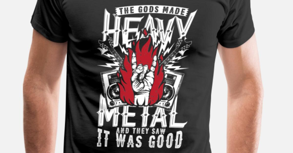 c76a62fc7890e4 Heavy metal music - They saw it was good Men s Premium T-Shirt ...