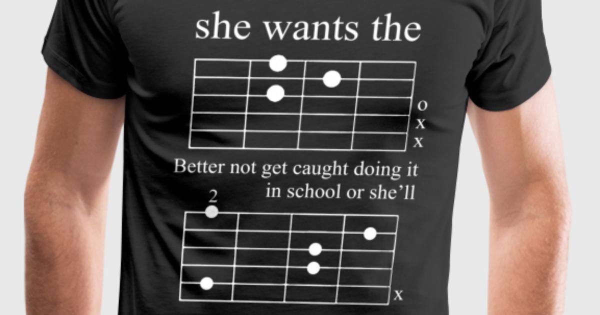 Guitar Chord by   Spreadshirt