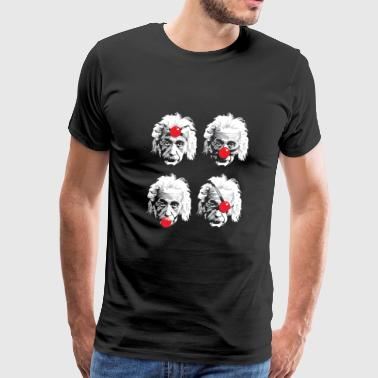Einstein Funny einstein - Men's Premium T-Shirt
