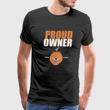 Proud Owner Of Chow Chow - Men's Premium T-Shirt