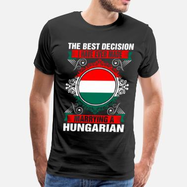 Hungarian Marrying A Hungarian - Men's Premium T-Shirt
