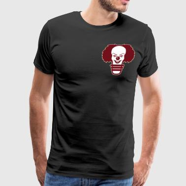 pennywise light bulb Burgundy - Men's Premium T-Shirt