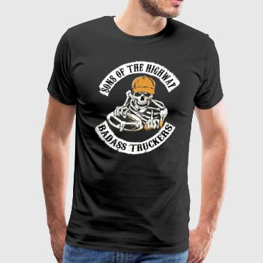 Truck Driver SONS OF THE HIGHWAY - Men's Premium T-Shirt