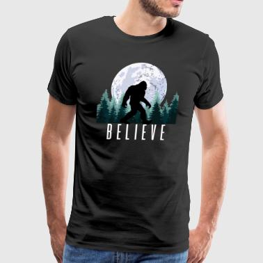 Bigfoot Believe | Sasquatch - Men's Premium T-Shirt