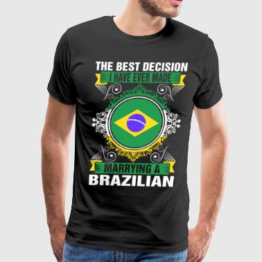 Marrying A Brazilian - Men's Premium T-Shirt