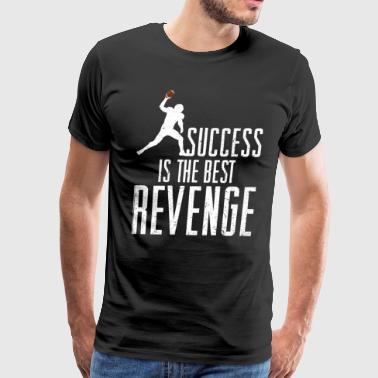 Football Success Is The Best Revenge - Men's Premium T-Shirt