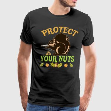 Protect Your Nuts - Men's Premium T-Shirt