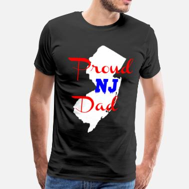 Proud NJ Dad - Men's Premium T-Shirt