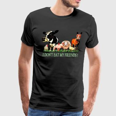 Loving Animals - Men's Premium T-Shirt