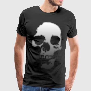 Gradient Skull - Men's Premium T-Shirt