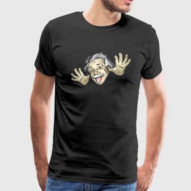 Einstein Funny Funny Einstein - Men's Premium T-Shirt