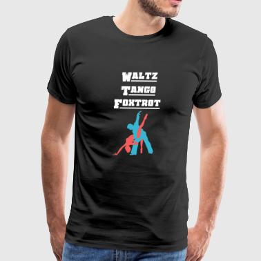 Ballroom Dancing - Men's Premium T-Shirt