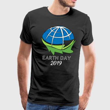 Earth Day 2019 Poster Gift for Men Women Kids Youth Clipart Everyday - Men's Premium T-Shirt