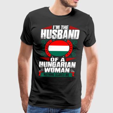 Im Hungarian Woman Husband - Men's Premium T-Shirt