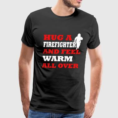 Operating Engineer Firefighters firefighter occupation fire - Men's Premium T-Shirt