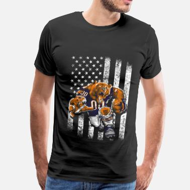 Chicago Sports The bears - Awesome t-shirt for american fans - Men's Premium T-Shirt