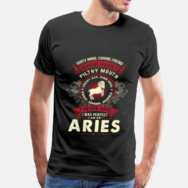 Vampire Diaries Stefan Aries - I never said I am a perfect aries t - shir - Men's Premium T-Shirt