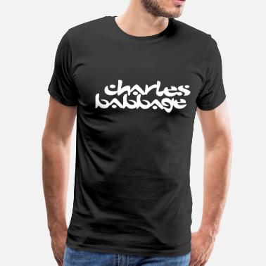 The Chemical Brothers Charles Babbage / Chemical Brothers - Men's Premium T-Shirt