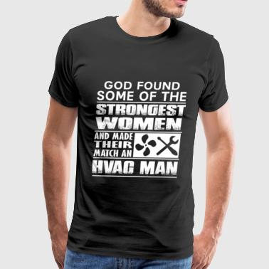 Hvac Man - Hvac wife - Men's Premium T-Shirt