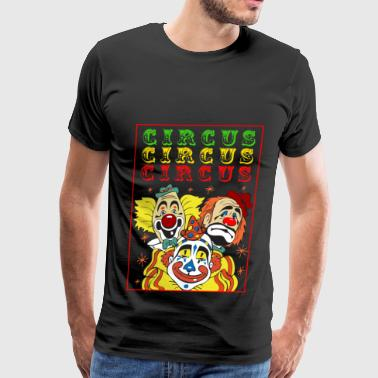 Circus Clowns - Men's Premium T-Shirt