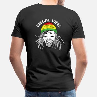 Rasta Man UNDV - Reggae Rasta Man (black) - Men's Premium T-Shirt