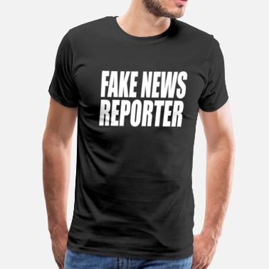 Tv Reporter Fake News Reporter - Men's Premium T-Shirt