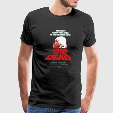Cult Movie Romero Cult Movie Dawn Of The Dead T shirt - Men's Premium T-Shirt