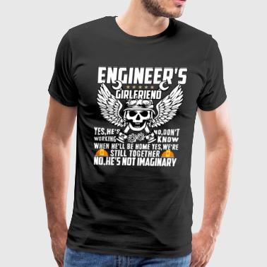 Engineer's Girlfriend T Shirt, Engineer T Shirt - Men's Premium T-Shirt