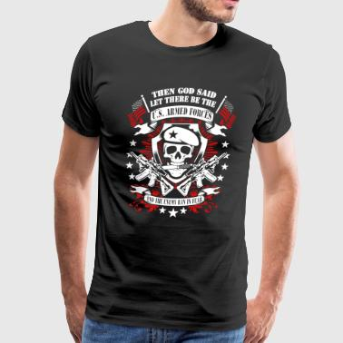 Armed Armed Forces Shirt - Men's Premium T-Shirt