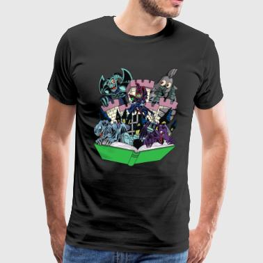 World of Toons - Men's Premium T-Shirt