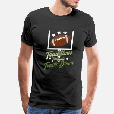 Love Rugby American Football - Men's Premium T-Shirt