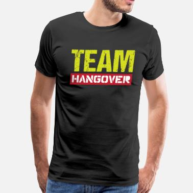 Wedding Receptions Team Hangover - Men's Premium T-Shirt