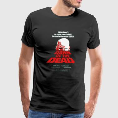 Romero Cult Movie Dawn Of The Dead T shirt - Men's Premium T-Shirt
