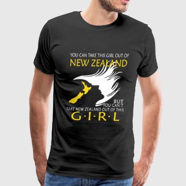 New Zealand All Blacks New Zealand Girl Shirt - Men's Premium T-Shirt