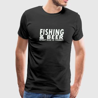 Fishing Beer - Men's Premium T-Shirt