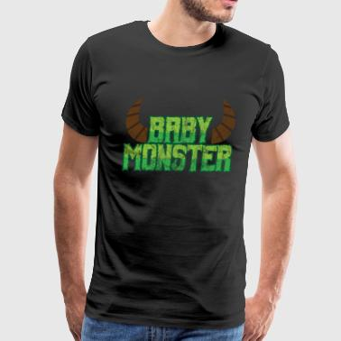 Halloween Baby Monster - Men's Premium T-Shirt