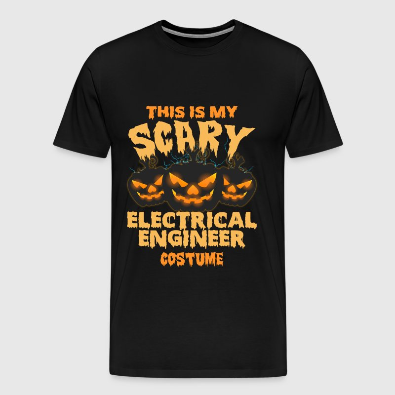 Electrical engineer - My scary engineer costume - Men's Premium T-Shirt