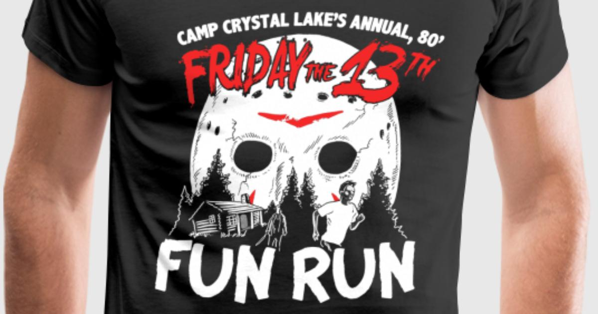 Fun Run At Camp Crystal Lake Halloween By Spreadshirt