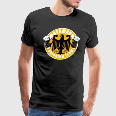 German drinking team Oktoberfest beefest t-shirts - Men's Premium T-Shirt