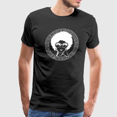 Naturalista Afro - Men's Premium T-Shirt