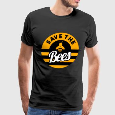 Killer Bee Save the Bees Animal Rights Nature Lovers - Men's Premium T-Shirt