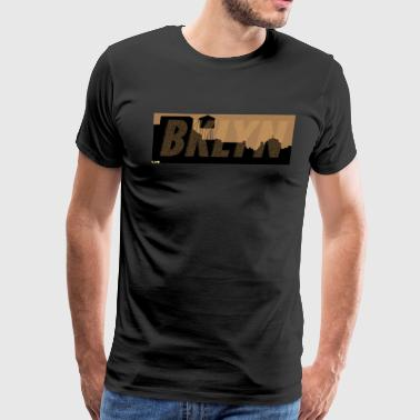 BKLYN design - Men's Premium T-Shirt