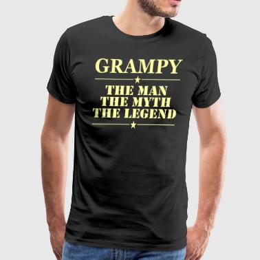 Grampy The Man The Myth The Legend - Men's Premium T-Shirt