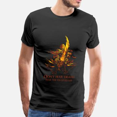 Dark Souls Darksoul-Don't fear death t-shirt for DS fans - Men's Premium T-Shirt