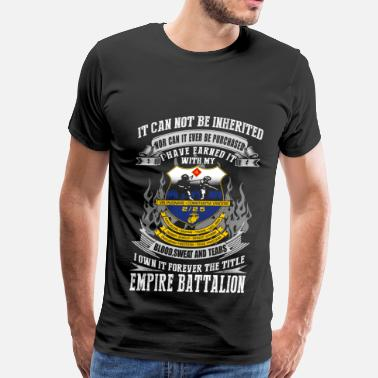 Cat Empire Empire battalion - I've earned it with blood tee - Men's Premium T-Shirt