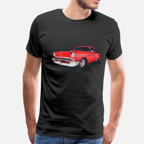 Chevy Bel Air Vector Illustration Mens Premium T Shirt Spreadshirt